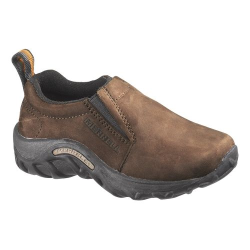 Kids Merrell Jungle Moc Nubuck Casual Shoe - Brown 3Y