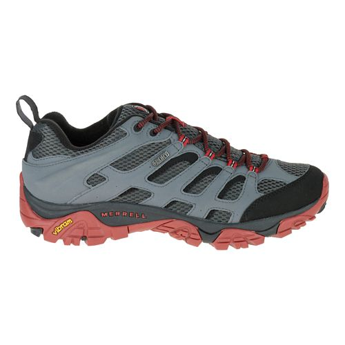 Mens Merrell Moab Waterproof Hiking Shoe - Castle Rock/Black 8.5