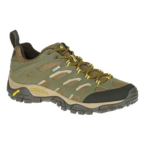 Mens Merrell Moab Waterproof Hiking Shoe - Olive 8.5
