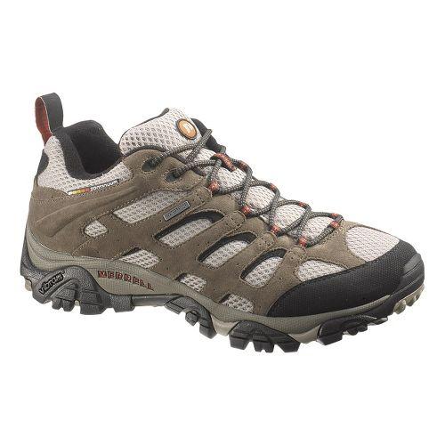 Mens Merrell Moab Waterproof Hiking Shoe - Bark Brown 10