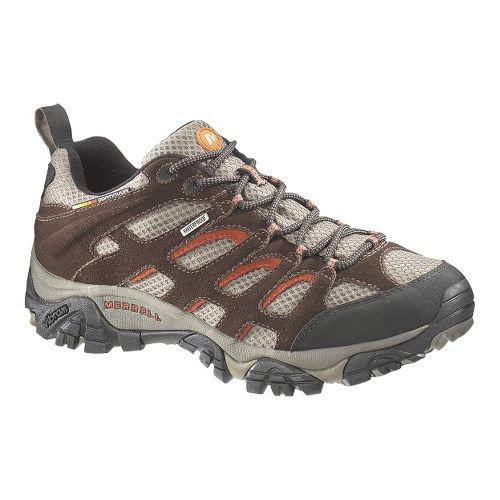 Mens Merrell Moab Waterproof Hiking Shoe - Espresso 7