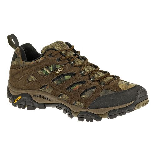 Mens Merrell Moab Waterproof Hiking Shoe - Mossy Oak 10