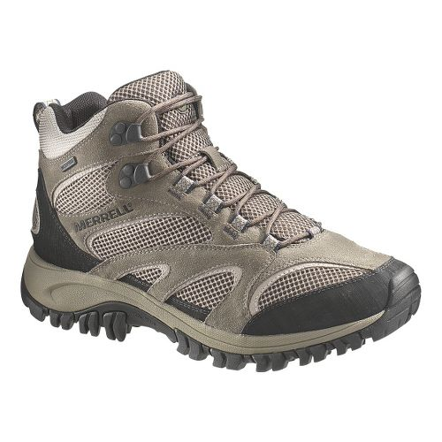 Mens Merrell Phoenix Mid Waterproof Hiking Shoe - Boulder 10