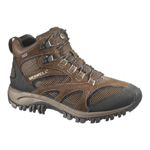 Mens Merrell Phoenix Mid Waterproof Hiking Shoe - Chocolate/Coriander 8.5