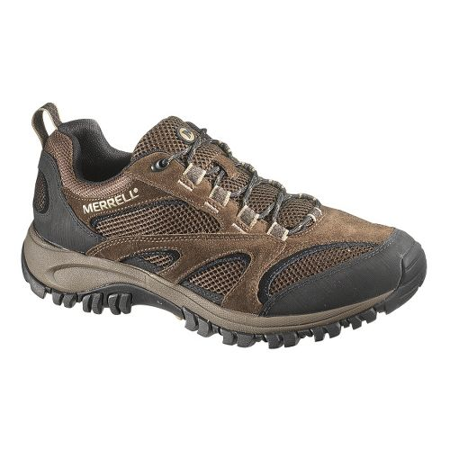 Mens Merrell Phoenix Vent Hiking Shoe - Chocolate/Coriander 12.5