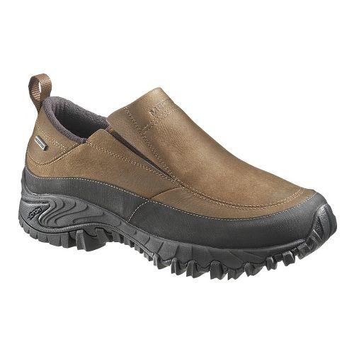 Mens Merrell Shiver Moc 2 Waterproof Casual Shoe - Dark Earth 11
