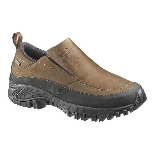 Mens Merrell Shiver Moc 2 Waterproof Casual Shoe - Dark Earth 12