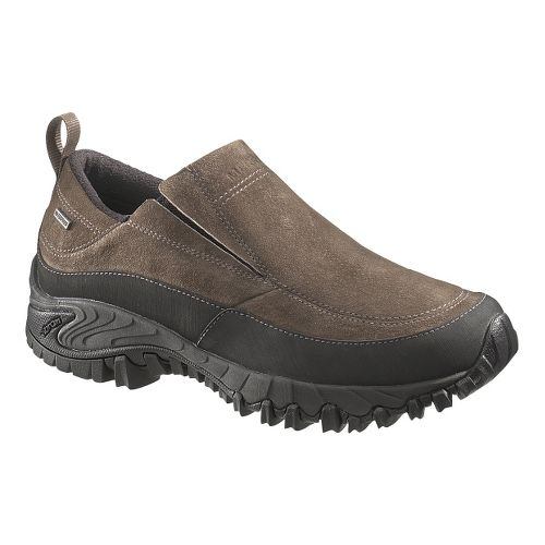 Mens Merrell Shiver Moc 2 Waterproof Casual Shoe - Merrell Stone 11