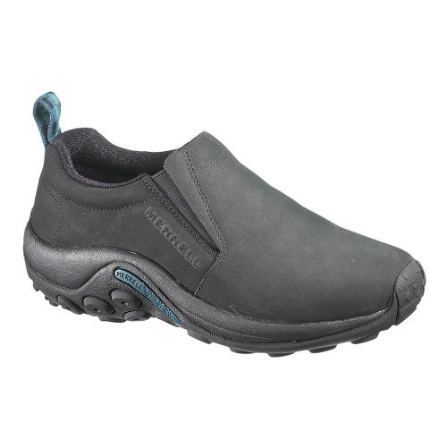 Womens Merrell Jungle Moc Nubuck Casual Shoe - Black 10