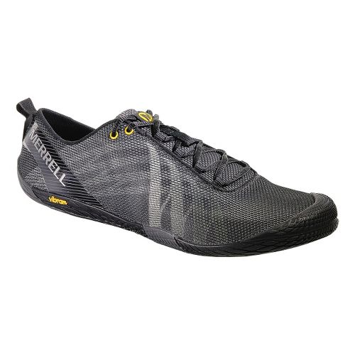 Mens Merrell Vapor Glove Running Shoe - Black 10