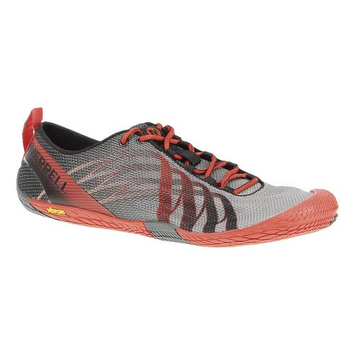 Mens Merrell Vapor Glove Running Shoe - Black/Lantern 8.5