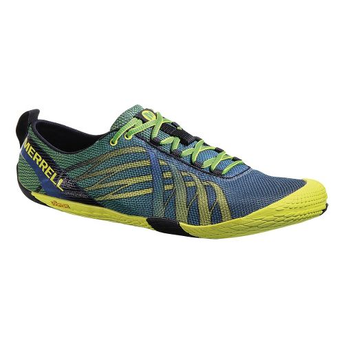 Mens Merrell Vapor Glove Running Shoe - Racer/Zest 7.5