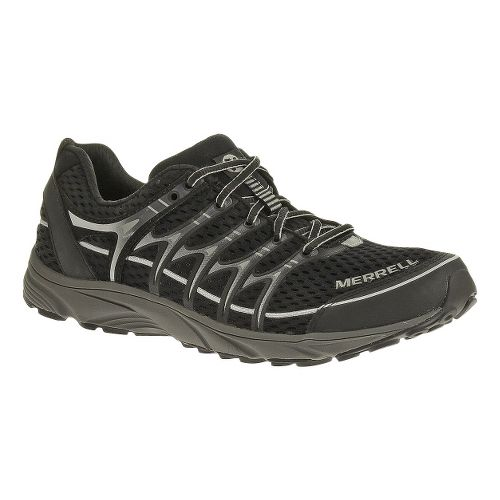 Mens Merrell Mix Master Move Trail Running Shoe - Black/Ice 12