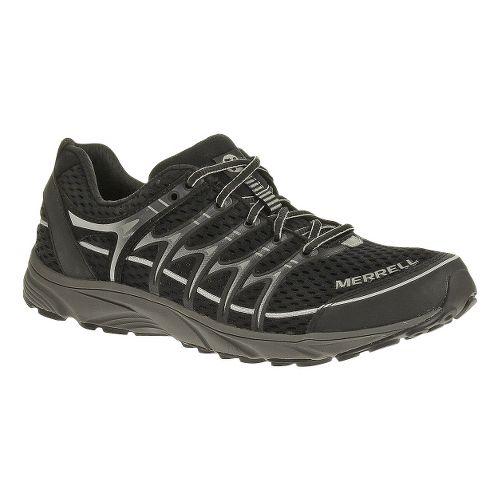 Mens Merrell Mix Master Move Trail Running Shoe - Black/Ice 9