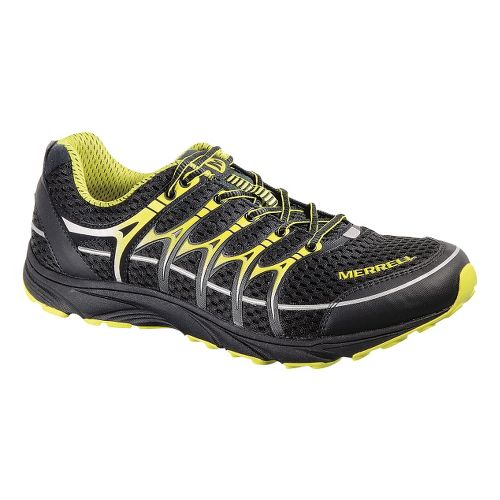 Mens Merrell Mix Master Move Trail Running Shoe - Black/Zest 11