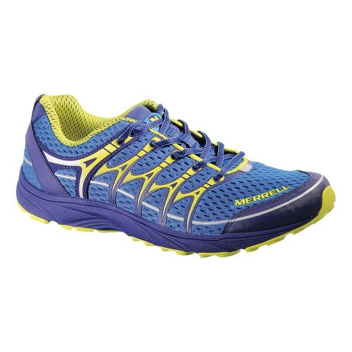 Mens Merrell Mix Master Move Trail Running Shoe - Racer/Zest 11