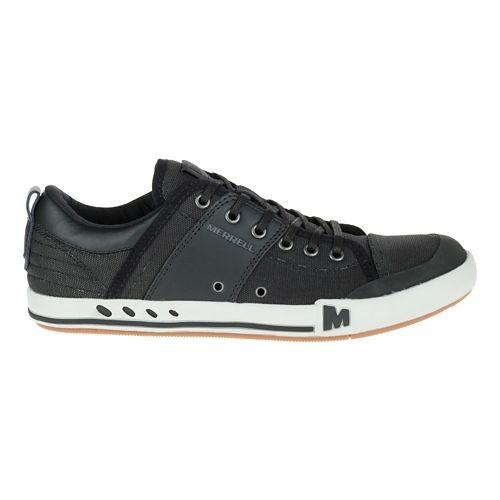Mens Merrell Rant Casual Shoe - Black/Black 7