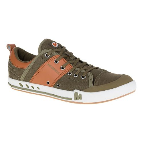 Mens Merrell Rant Casual Shoe - Dark Olive 9