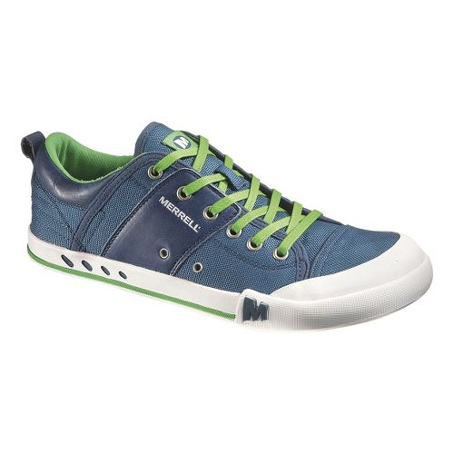 Mens Merrell Rant Casual Shoe - Majolica Blue 8