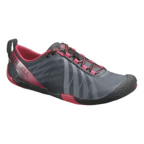 Womens Merrell Vapor Glove Running Shoe - Black 6.5