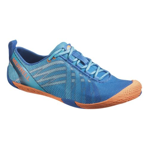 Womens Merrell Vapor Glove Running Shoe - Blue 5.5