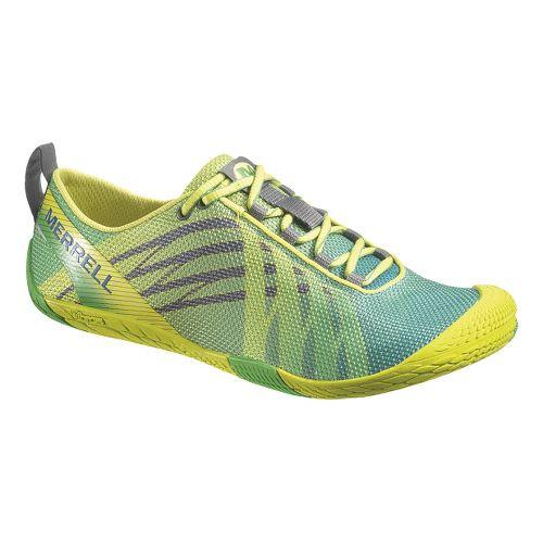 Womens Merrell Vapor Glove Running Shoe - Green 7.5