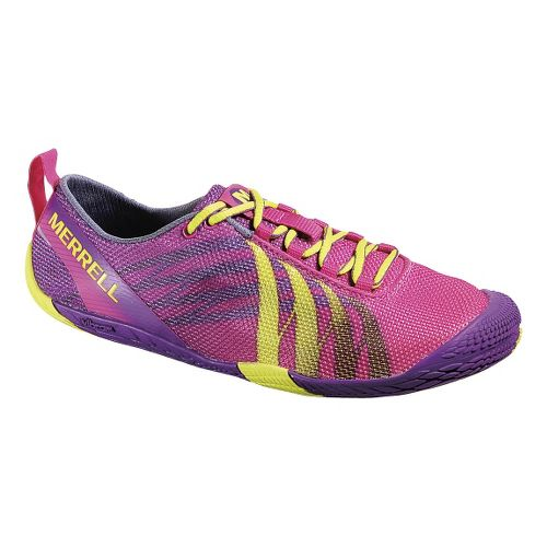 Womens Merrell Vapor Glove Running Shoe - Mulberry 6.5