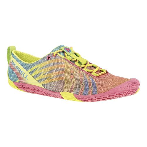 Womens Merrell Vapor Glove Running Shoe - Paradise Pink/High Viz 7