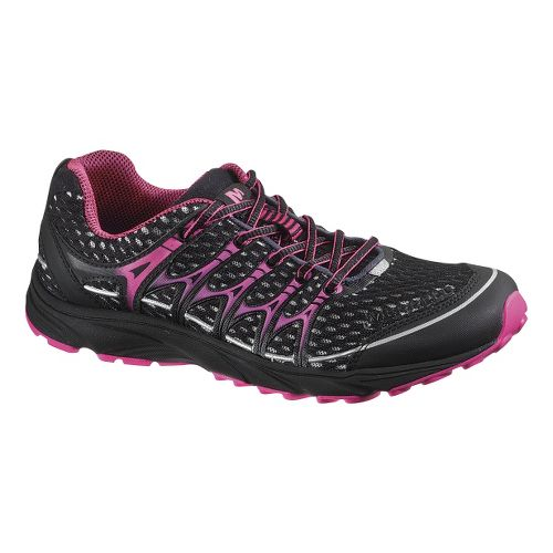Womens Merrell Mix Master Move Glide Running Shoe - Black/Pink 6.5