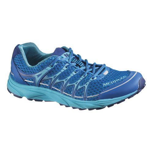 Womens Merrell Mix Master Move Glide Running Shoe - Blue 8