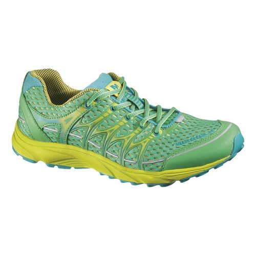 Womens Merrell Mix Master Move Glide Running Shoe - Island Green 8.5