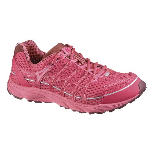 Womens Merrell Mix Master Move Glide Running Shoe - Pink 9.5