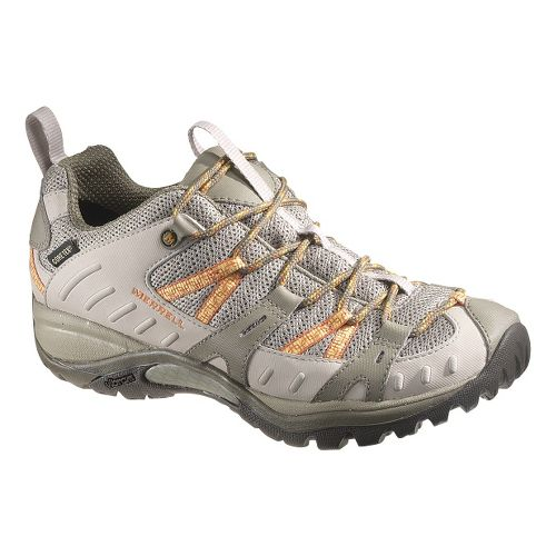 Womens Merrell Siren Sport 2 Waterproof Hiking Shoe - Brindle/Aluminum 8.5