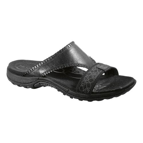 Womens Merrell Sweetpea Sandals Shoe - Black Smooth 6