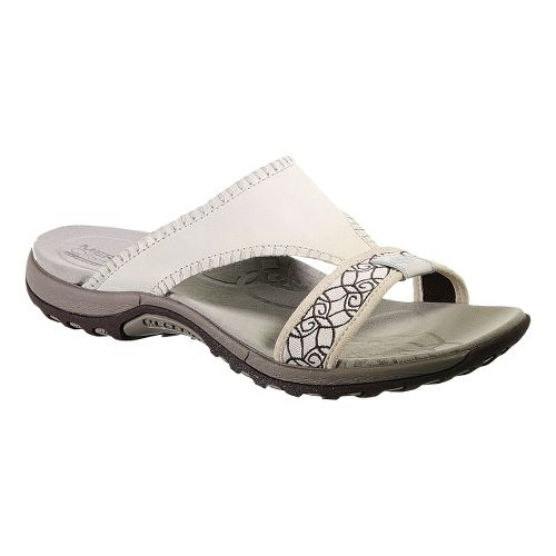 Womens Merrell Sweetpea Sandals Shoe - Bone 7