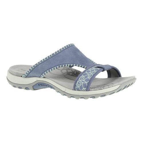 Womens Merrell Sweetpea Sandals Shoe - Bering Sea 6