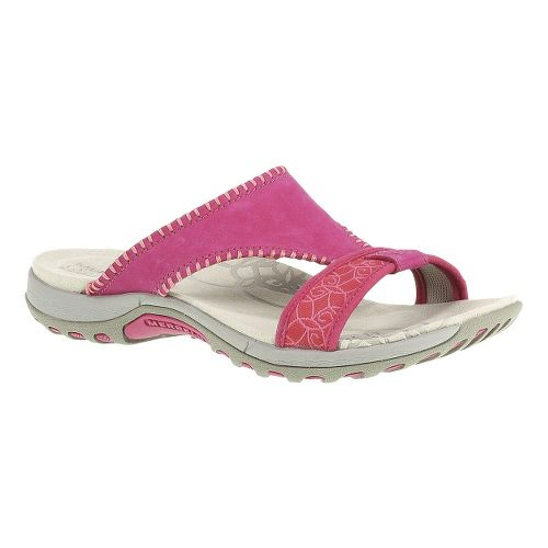 Womens Merrell Sweetpea Sandals Shoe - Rose Red 5