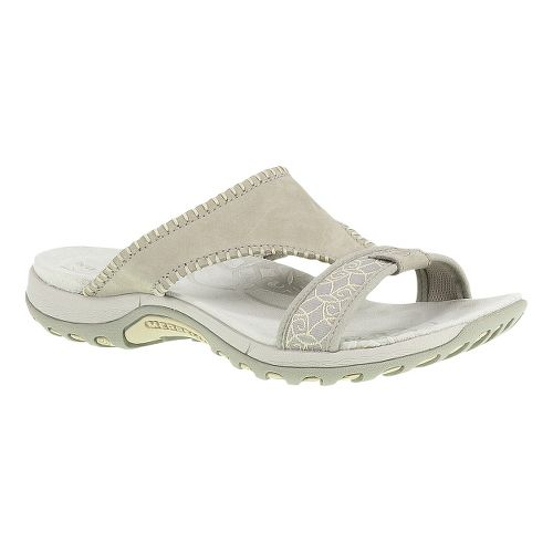 Womens Merrell Sweetpea Sandals Shoe - Taupe 6