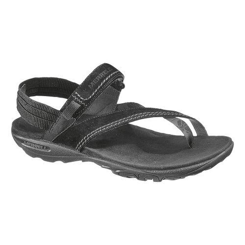 Womens Merrell Mimosa Clove Sandals Shoe - Black 6
