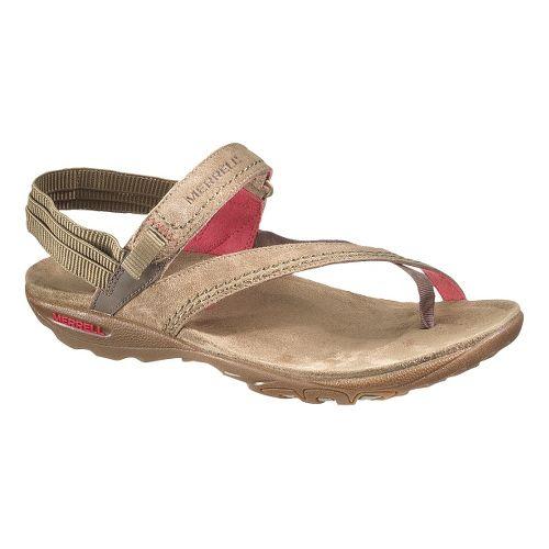 Womens Merrell Mimosa Clove Sandals Shoe - Kangaroo 8