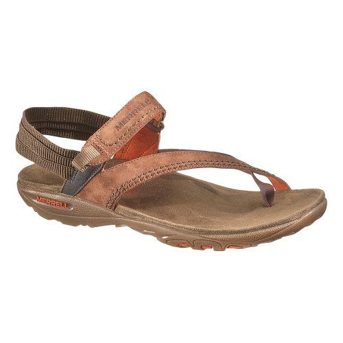 Womens Merrell Mimosa Clove Sandals Shoe - Tortoise Shell 7