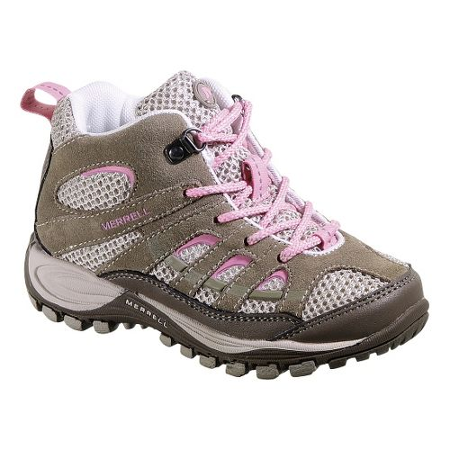 Kids Merrell Chameleon 4 Mid Ventilator Hiking Shoe - Elephant 10.5