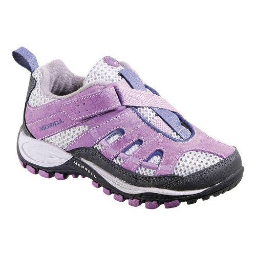 Kids Merrell Chameleon 4 Ventilator Z-Rap Hiking Shoe - Dusty Lavender 11.5