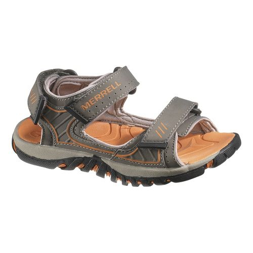 Kids Merrell Spinster Splash Sandals Shoe - Bungee Cord/Pers Orange 3.5