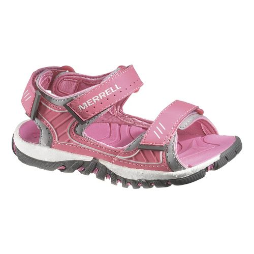 Kids Merrell Spinster Splash Sandals Shoe - Honeysuckle 1