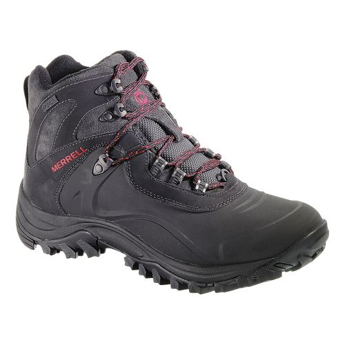 Mens Merrell Iceclaw Mid Waterproof Hiking Shoe - Black 7