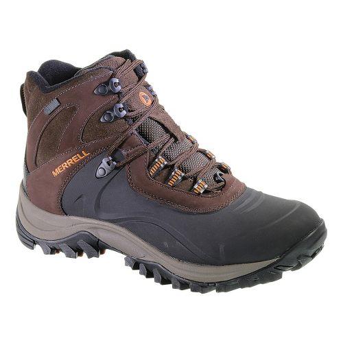 Mens Merrell Iceclaw Mid Waterproof Hiking Shoe - Espresso 15