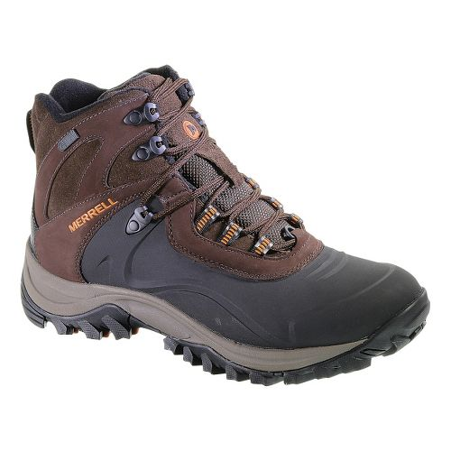 Mens Merrell Iceclaw Mid Waterproof Hiking Shoe - Espresso 8