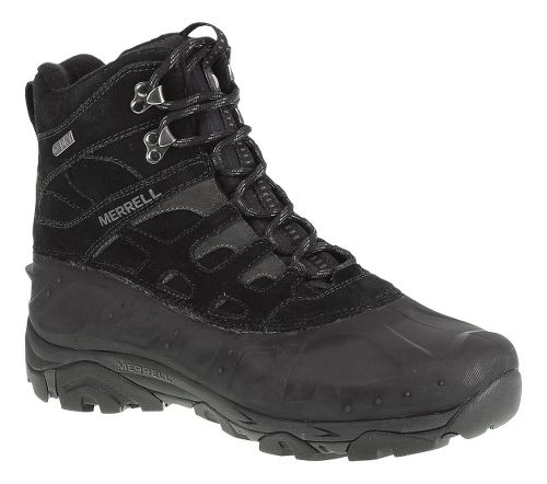 Mens Merrell Moab Polar Waterproof Hiking Shoe - Black 11.5