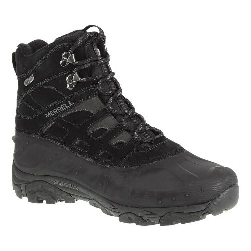 Mens Merrell Moab Polar Waterproof Hiking Shoe - Black 10